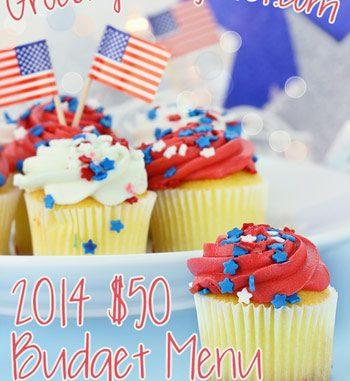 2014 $50 Budget Menu Plan Week #22