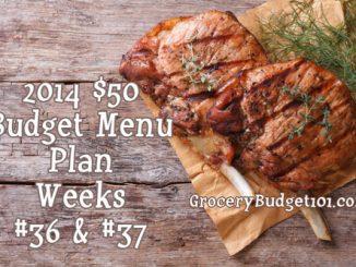 2014 50 budget menu plan week 36 and 37 attachment