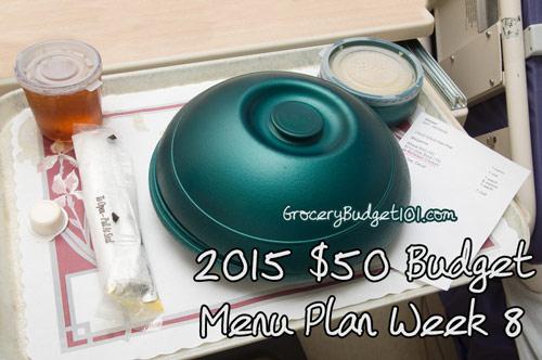 2015 $50 Budget Menu Plan Week 8