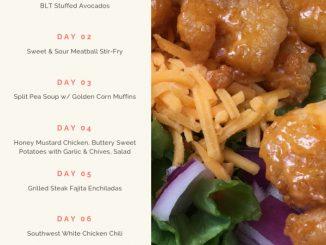 2019 week 1 50 weekly menu plan attachment