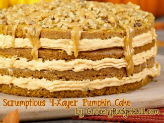 4 Layer Scrumptious Pumpkin Cake