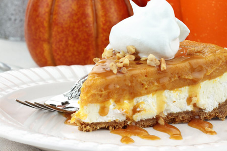 double-layer-no-bake-pumpkin-pie