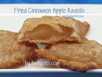 Cinnamon Apple Ravioli aka Fried Apple Pies