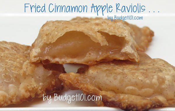 Cinnamon Apple Ravioli aka Fried Apple Pies