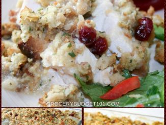 Cranberry Stuffed Chicken