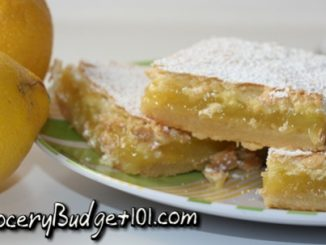 Blue Ribbon Lemon Bars