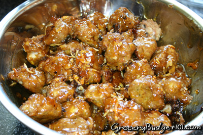 Tailgater's Sticky Turkey Balls