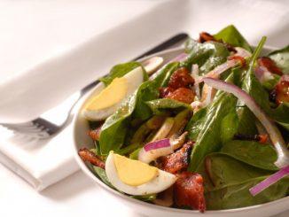 bermuda spinach salad attachment