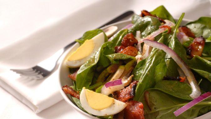 Bermuda Spinach Salad