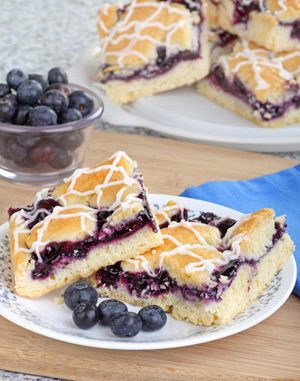 Blueberry Cloud Coffeecake