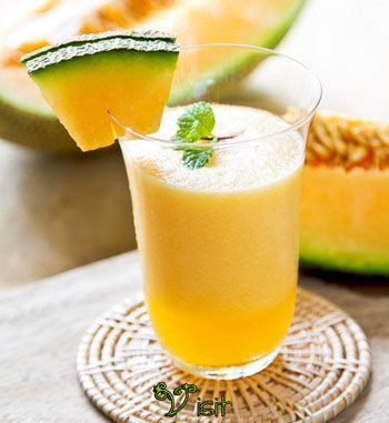 Cantaloupe Frenzy Smoothie