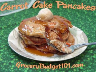 carrot cake pancakes attachment