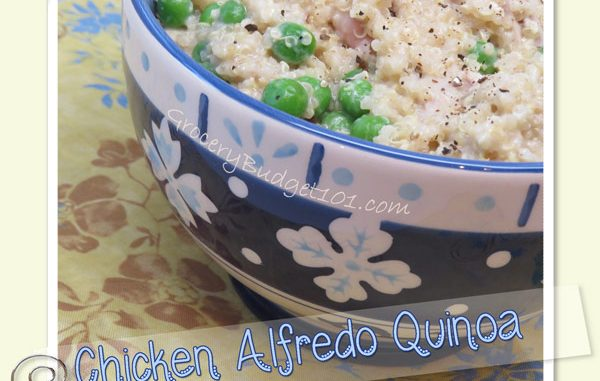 Chicken Alfredo Quinoa