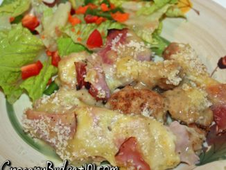 chicken cordon bleu casserole attachment