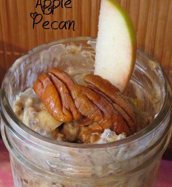 Cinnamon Apple Pecan Refrigerator Oatmeal
