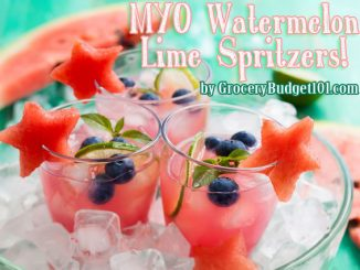 cooling watermelon lime spritzers attachment