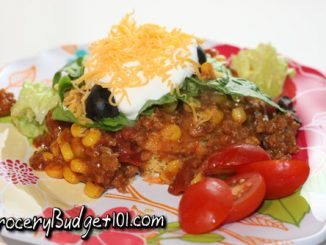 cornbread taco throw together attachment