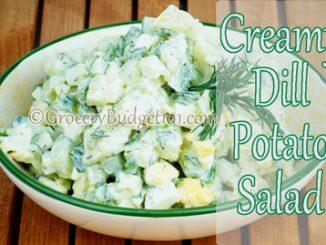 creamy dill potato salad attachment