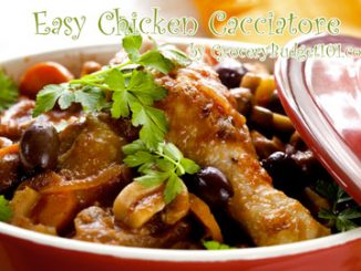 crockpot chicken cacciatore attachment