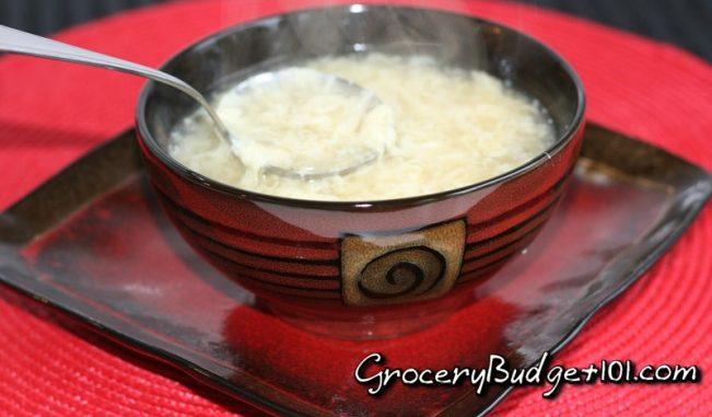 Egg Drop Soup- Restaurant Style