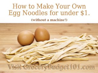 egg noodles attachment
