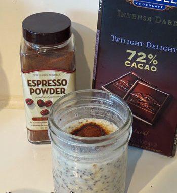 Espresso Refrigerator Oatmeal