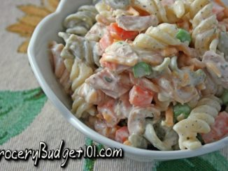 Evacuation Tuna Pasta Salad