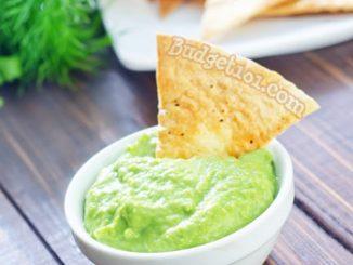 faux edamame guacamole attachment