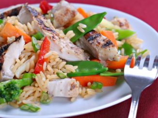 Grilled Chicken & Stir Fry
