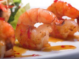 grilled honey chipotle shrimp attachment