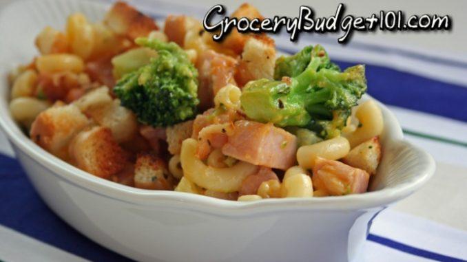 Ham & Broccoli Mac-n-Cheese