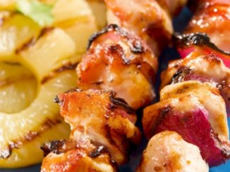 hawaiian grilled chicken pineapple attachment