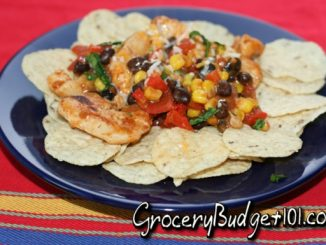 healthy skillet chicken nachos attachment
