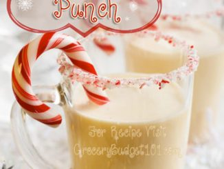 Holiday Peppermint Punch