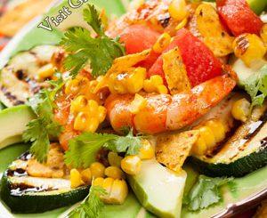 mexican grilled shrimp salad attachment
