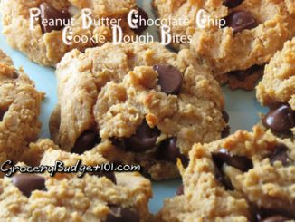 Peanut Butter Chocolate Chip Cookie Dough Bites (shhh…they're Healthy!)