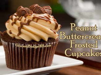 peanut buttercream frosted cupcakes attachment