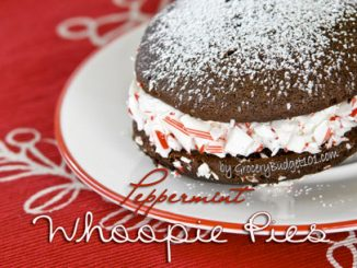 peppermint snow whoopie pies attachment