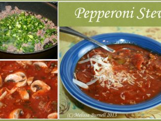 Pepperoni Mushroom Stew