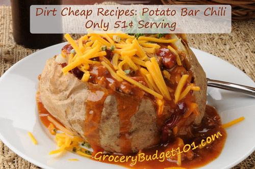 Potato Bar Chili