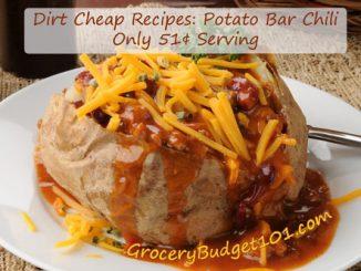 potato bar chili attachment