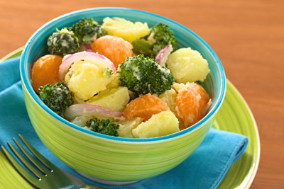 potato-broccoli-mandarin-salad