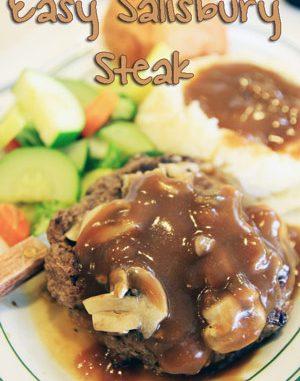 Salisbury Steak & Gravy