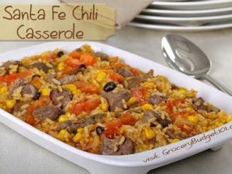 Santa Fe Style Chili  Casserole
