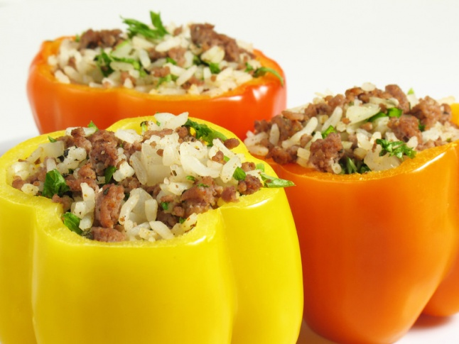 sausage-stuffed-bell-peppers