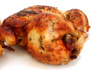 Sinfully Simple Rotisserie Chicken