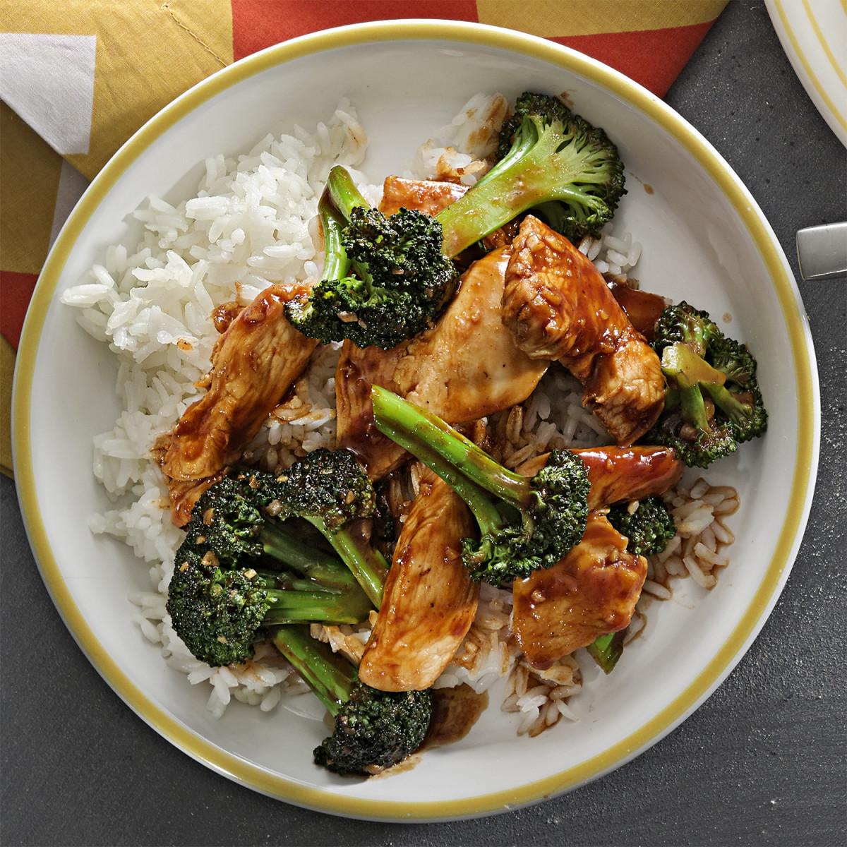 spicy chicken broccoli attachment
