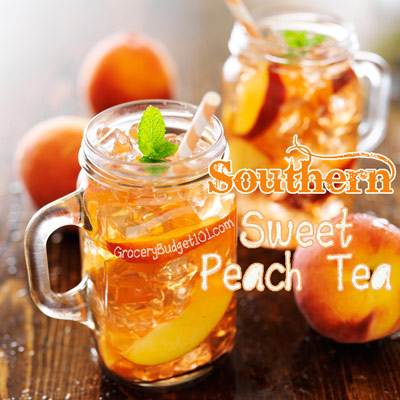 sweet-peach-tea