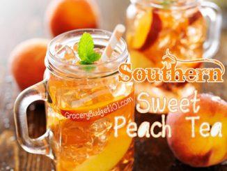 sweet peach tea attachment