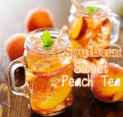Sweet Peach Tea